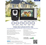 Video door phone kit OP-D6D10+OP-D6A9M2